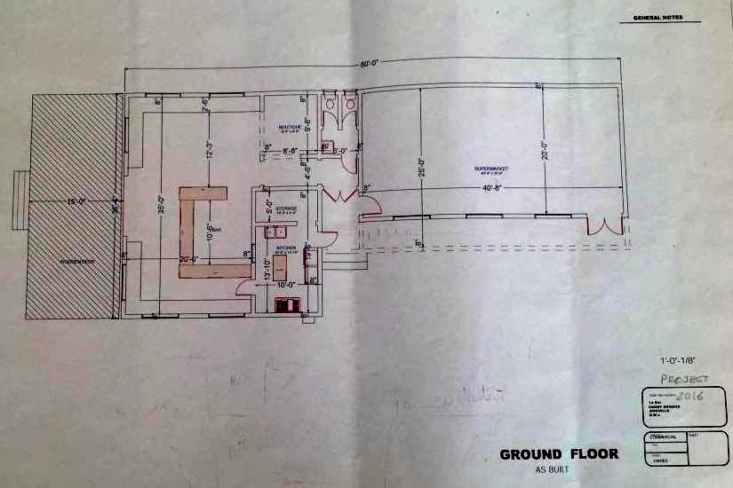 Anguilla Real Estate Sandy Ground Le Bar Plan
