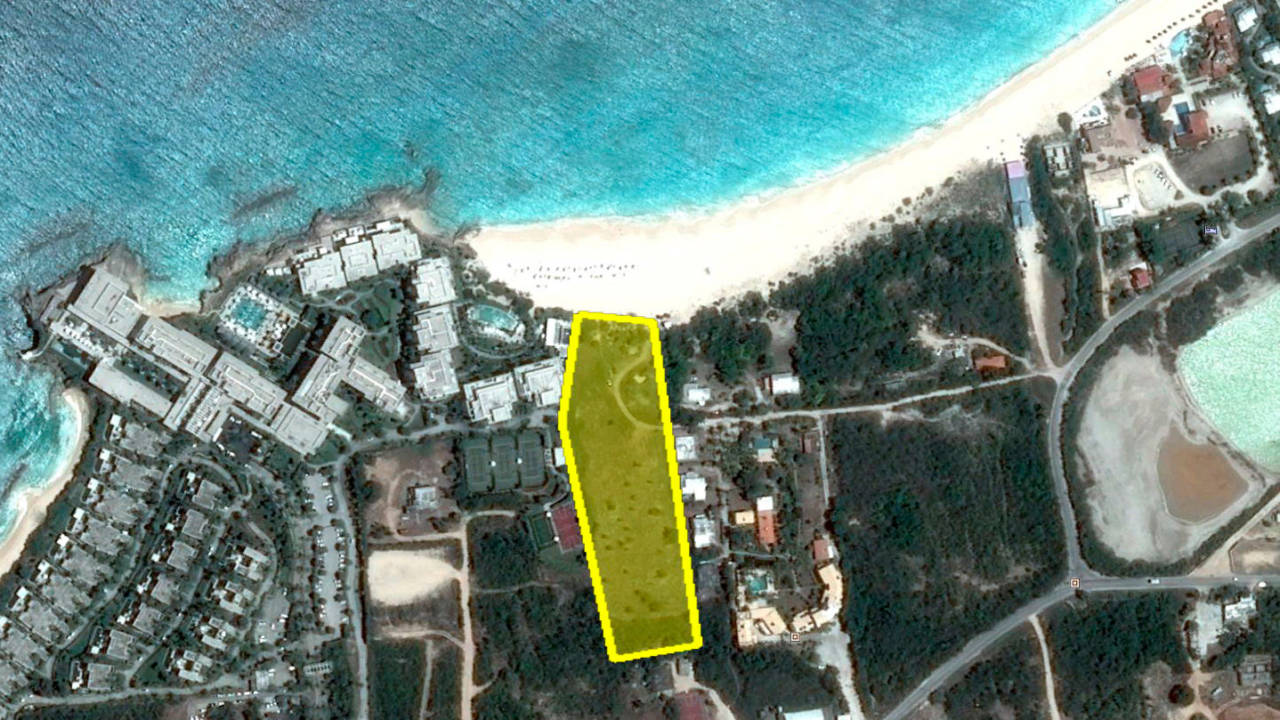 beach land for sale anguilla meads bay map