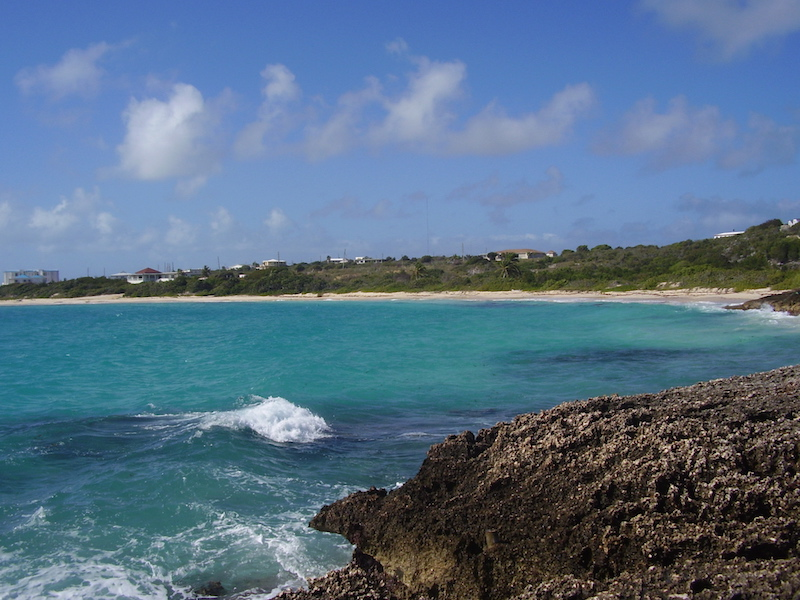 Seashore land for sale in Anguilla Sandy Hill