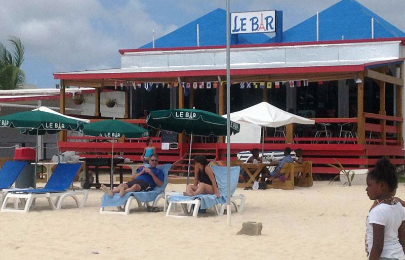 Anguilla Real Estate Sandy Ground Le Bar Beach Restaurant