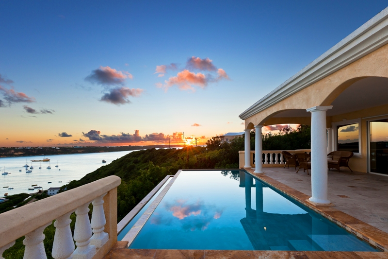 for sale in anguilla spyglass hill villa